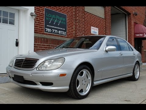 2002 mercedes benz s55 amg walk around presentation at louis frank motorcars llc by louis. Black Bedroom Furniture Sets. Home Design Ideas