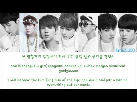 BTS (방탄소년단) - If I Rule The World [Hangul/Romanization/English] Color & Picture Coded HD