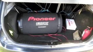 subwoofer pioneer ts wx305t 2