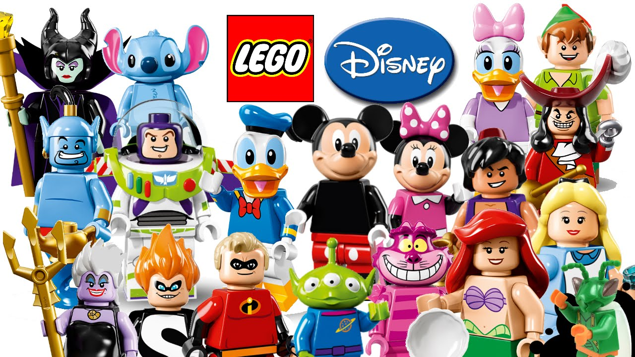 Lego disney minifigures 2016 my thoughts youtube