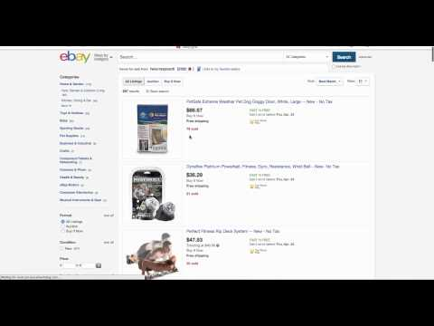 EBAY HACK! Selling products from Amazon on ebay for profits. Drop shipping