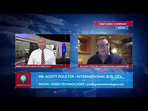 Pacific Green Technologies $PGTK Provides Investors with Corporate Update for 2018