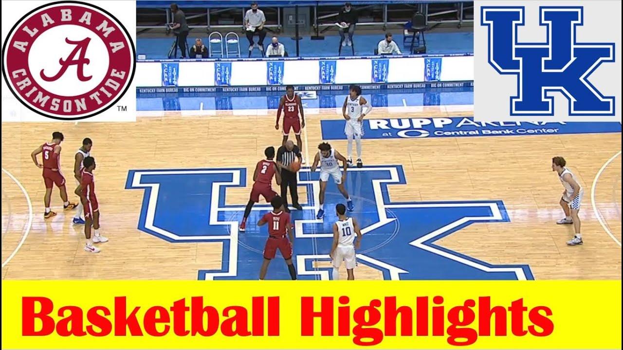 Download Alabama vs Kentucky Basketball Game Highlights 1 12 2021
