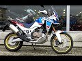 HONDA AFRICA TWIN 2018 NEW MODEL FIRST START EXHAUST SOUND