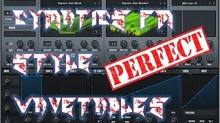 Sound Design #6 - Serum Perfect Cymatics FM Style Wavetables