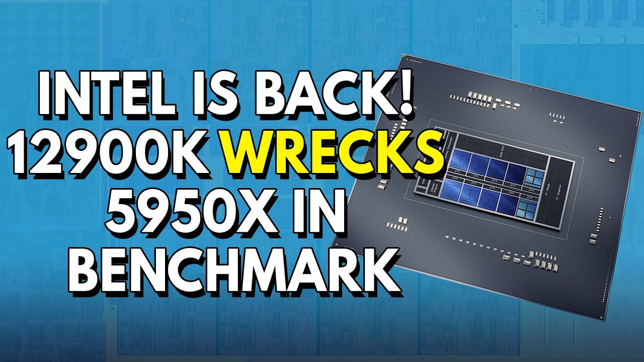 Download INTEL IS BACK! 12900K Wrecks Ryzen 5950X In Benchmark | Nvidia DLSS Next BIG LEAP is Coming