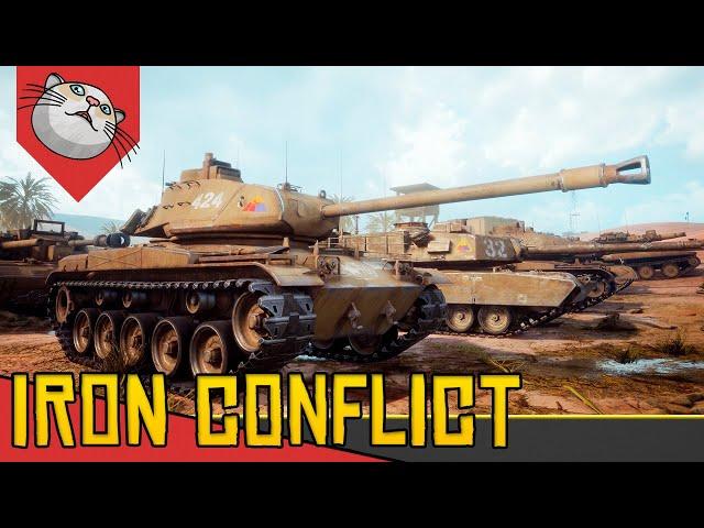 ESTRATÉGIA e TÁTICA MULTIPLAYER - Iron Conflict [Conhecendo o Jogo Gameplay PT-BR]