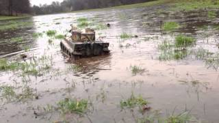 Muddy Water Rc Tiger 1 Action
