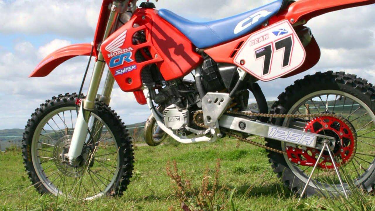 Honda CR 125 Honda Evolution Dirt Bike