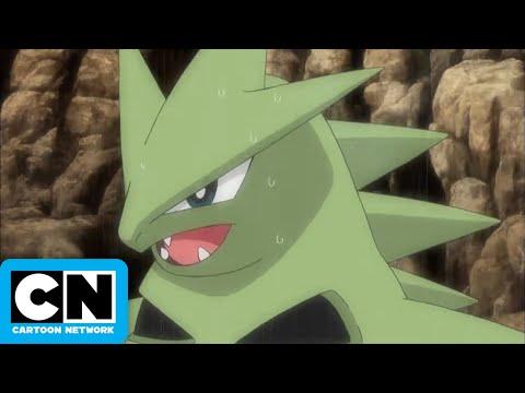 Pokemon | Pikachu VS Tyranitar! | Cartoon Network