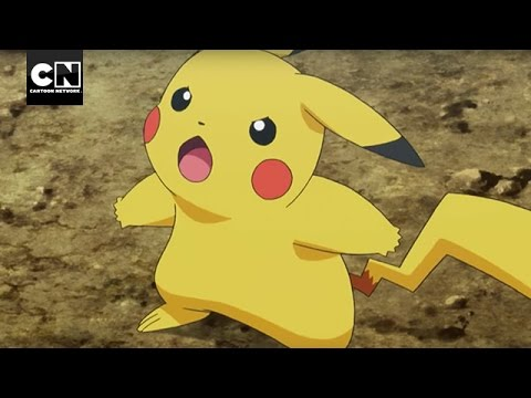 Pokemon Pikachu Vs Tyranitar Cartoon Network Youtube