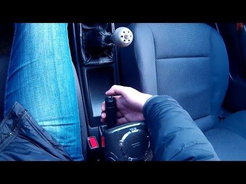 Как трогаться с ручника на горке