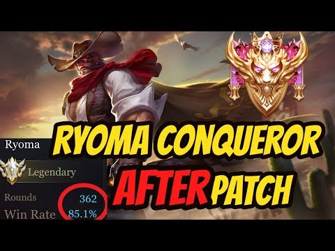 Ryoma SoloQ Still GOOD??! | Arena of Valor Ryoma Gameplay