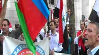 SOUTH AZERBAIJAN people demonstration in LONDON-2O/09/ 2009 (first day of schools starts)5