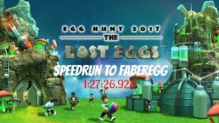 ROBLOX - Egg Hunt 2017 SPEEDRUN TO FABEREGG 1:27:26.925