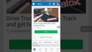 Roblox mtg and drive trucks on tracks