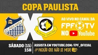 Água Santa 0 x 2 São Bernardo - Copa Paulista 2018