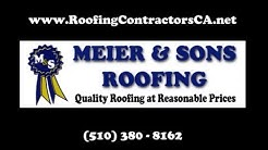 Meier & Sons Roofing - Commercial & Residential Roofing in Oakland, Berkeley & Richmond