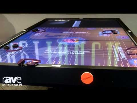 InfoComm 2014: CyberTouch Shows its Terra 118 Inch Table