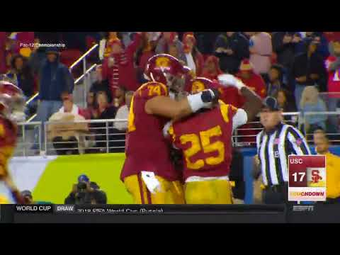 USC Football - Pac-12 Championship: USC 31, Stanford 28 - Highlights (12/1/17)