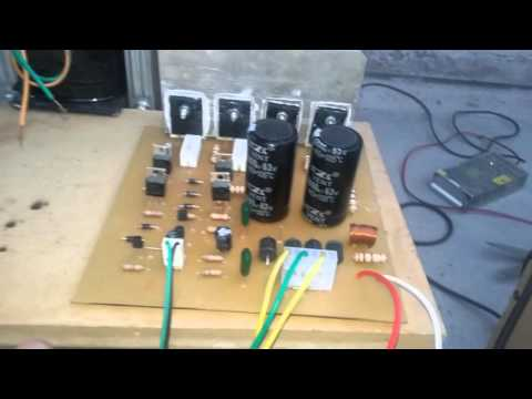 Amplificador De 200w Monofónico