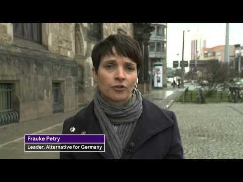 Frauke Petry interview