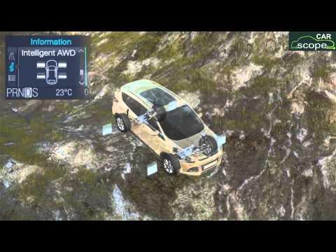 2013 Ford Kuga. Работа системы полного привода