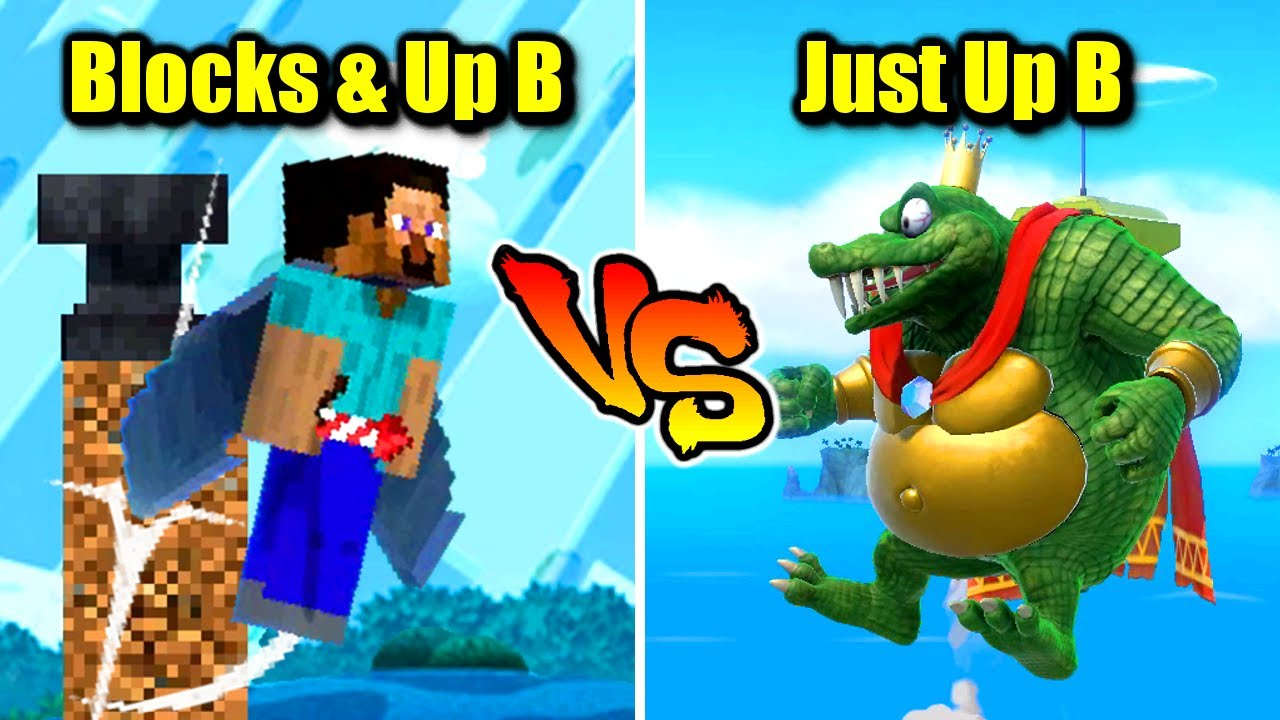 Who Can Jump Higher Than Minecraft Steve in Super Smash Bros. Ultimate?