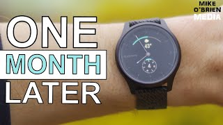 VIVOMOVE STYLE (Problems & Best Features after 1 Month of Daily Use) - New Garmin Hybrid Smartwatch