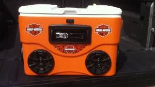 Harley-davidson Ice Chest Cooler (custom Build)