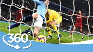 IMMERSIVE VR EXPERIENCE | Man City 2-1 Liverpool