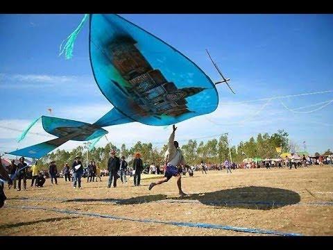 มหกรรมว่าวอีสาน อ.ห้วยราช จ.บุรีรัมย์ Buriram-Huairat Festival kite