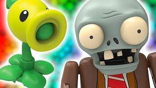 Plants vs Zombies! PvZ K'Nex Blind Bags opening gameplay by FUNtasticToys4Kids thumbnail