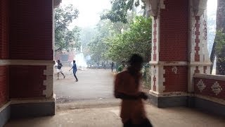 Grenade and Tear gas in RED FORT *(University college trivandrum)