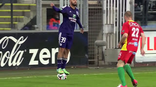 Anthony Vanden Borre's ball stand skill vs KV Oostende