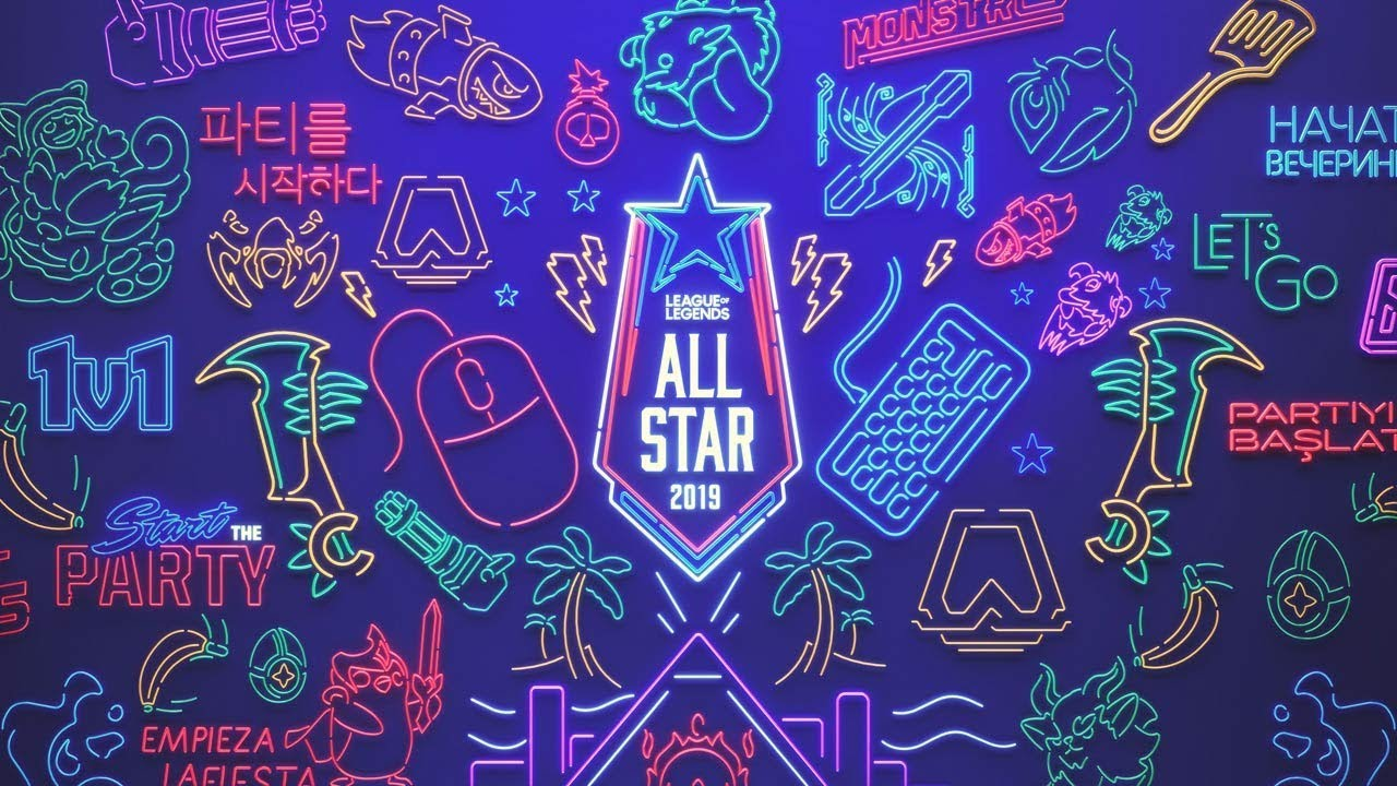 Start The Party All Star 2019 Event League Of Legends