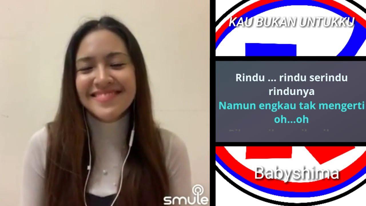 RINDU SERINDUNYA - duet karaoke smule bareng artis baby shima