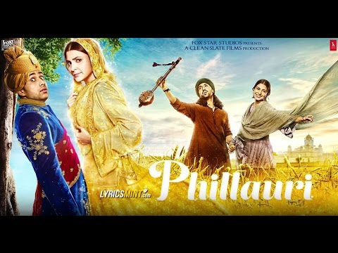 Diljit Dosanjh & Anushka Sharma at Phillauri Trailer launch & press conference