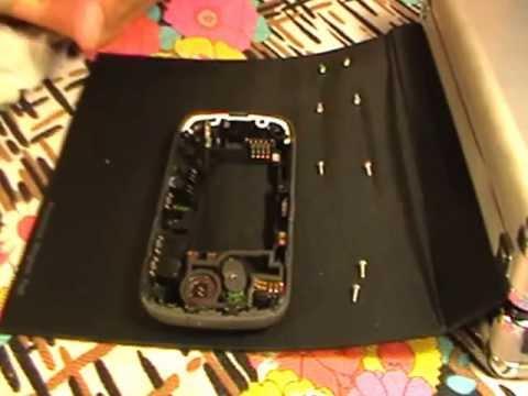 Cambio microfono che gracchia Blackberry 8520 curve