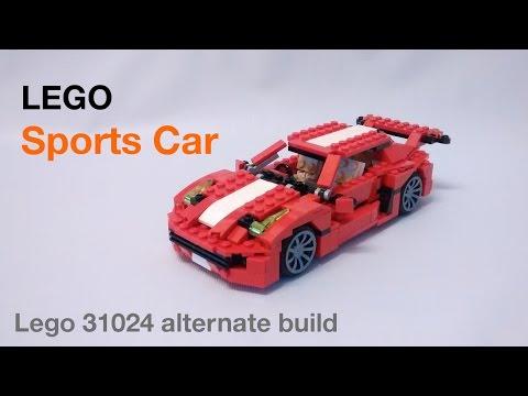 Lego Sports Car Set 31024 Alternate Build Youtube