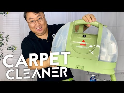 Bissell Little Green Portable Carpet Steam Cleaner Review