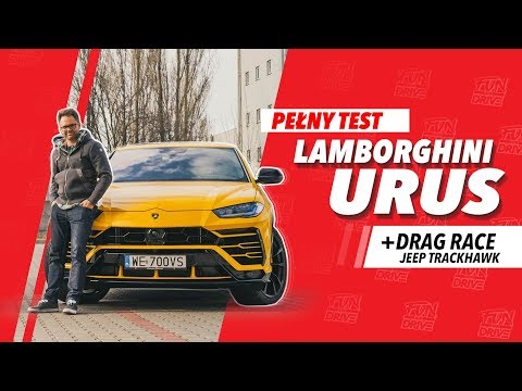 Lamborghini URUS Vs Jeep Grand Cherokee TRACKHAWK - DRAG RACE | Test PL | FUN And DRIVE + Kameralnie