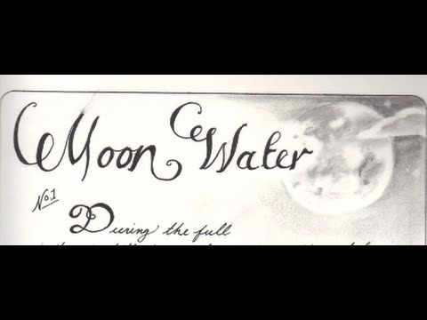 MOON MAGIC~Moon Water. V/R Jude Direct Book of Shadows