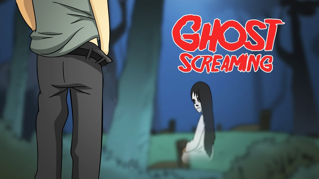 Kartun Lucu Teriakan Hantu Ghost Screaming Funny Cartoon