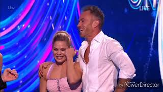 James Jordan and Alexandra Schauman skating in Dancing on Ice: Semi Final (Second Skate) (3/3/19)