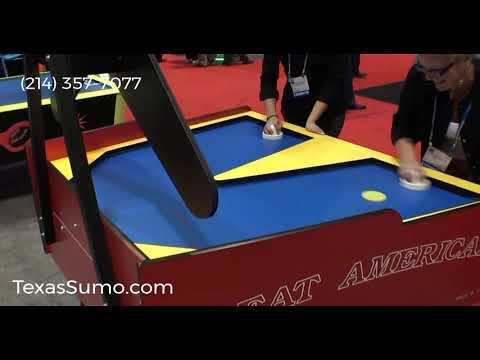 Boom-A-Rang Air Hockey Table Rental - Dallas, TX - (214) 357-7077
