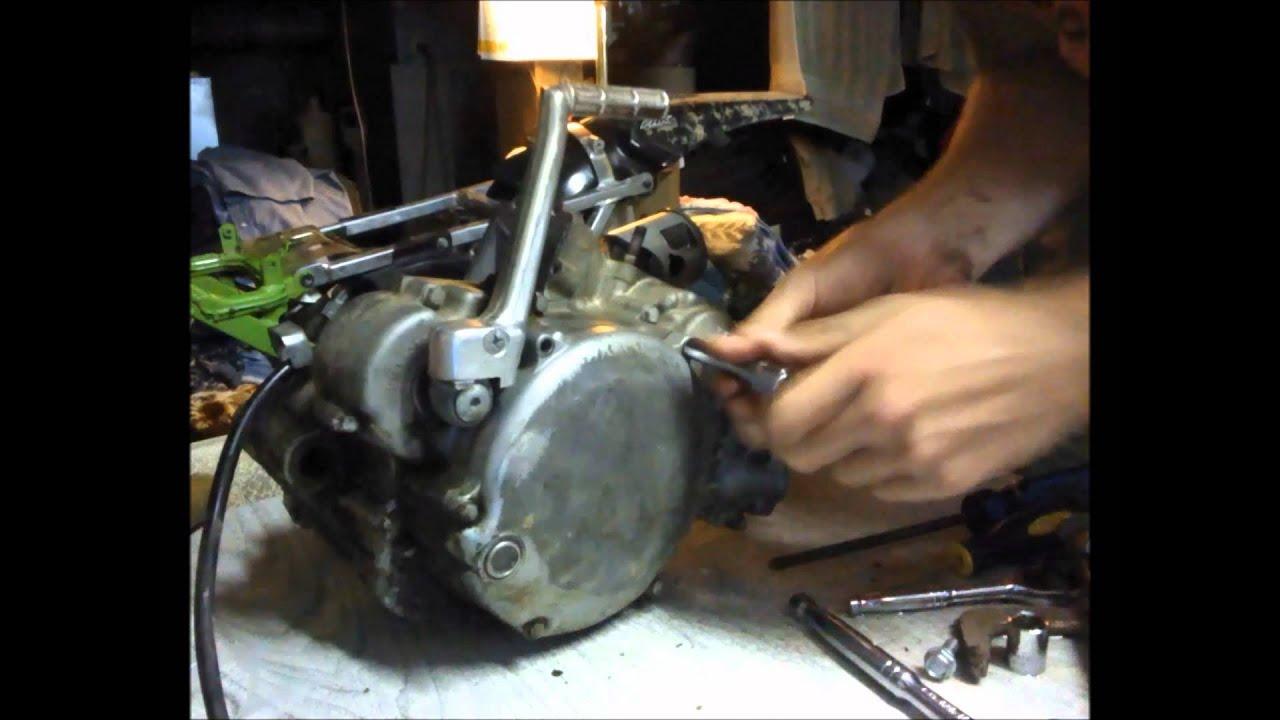 99 KX 125 bottom end rebuild (Part One) - YouTube