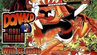Donald in Maui Mallard - Walkthrough with PC audio