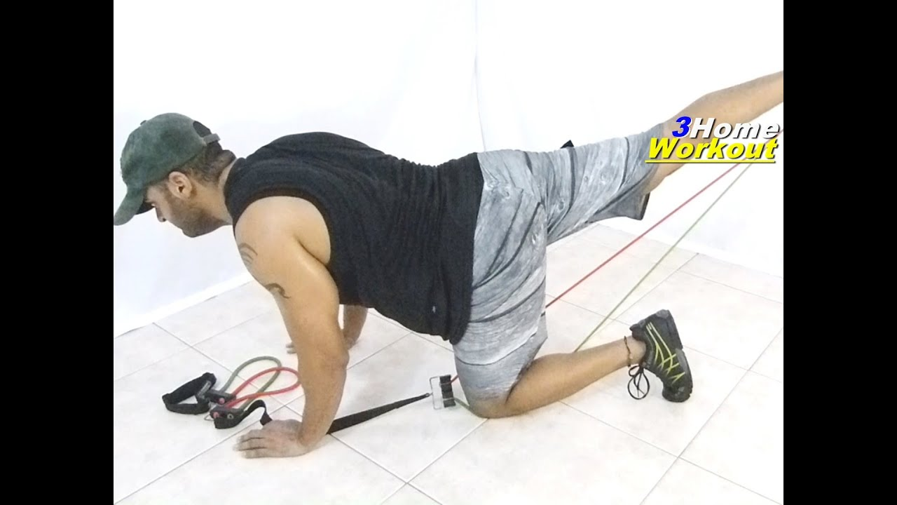 Fitness at Home Glutes...