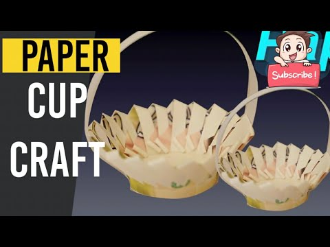 Amazing Paper Cup Crafts DIY Videos | Paper Cups Life Hacks | Easy Paper Cups Craft Ideas